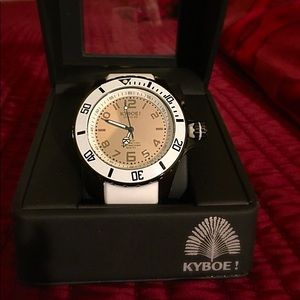 Accessories - Kyboe! Giant 48mm Black Reflector woman's watch